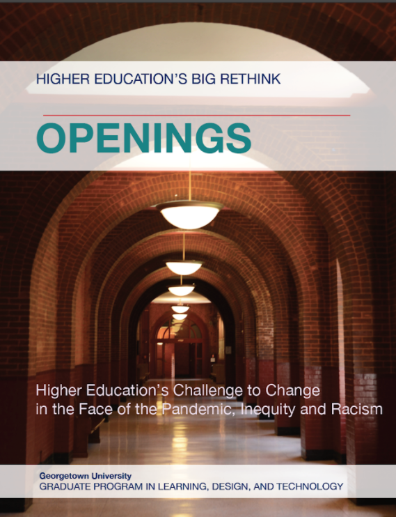 Higher Education's Big Rethink Openings cover page