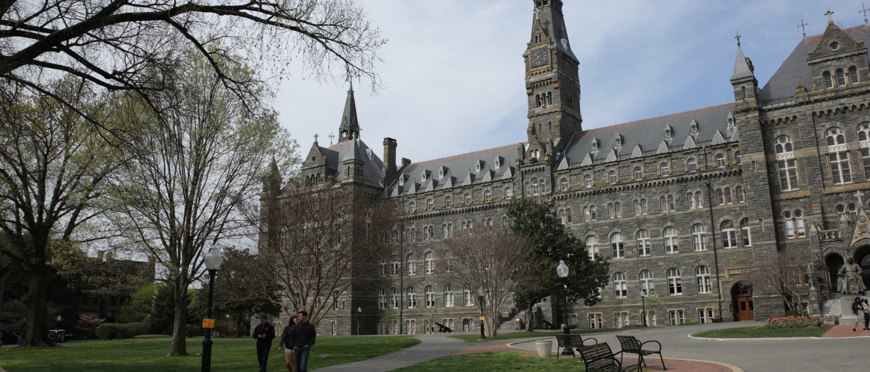 Healy Hall-Georgetown Main Campus